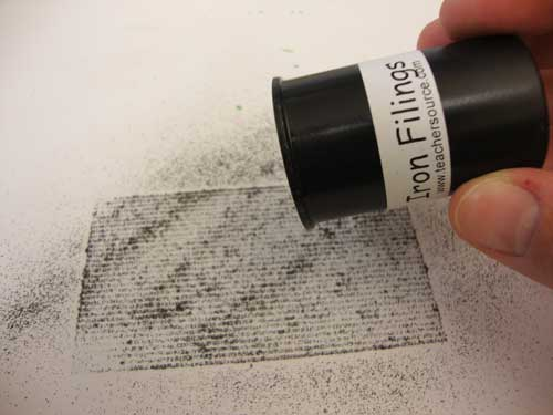 how to make magnetic slime without iron filings