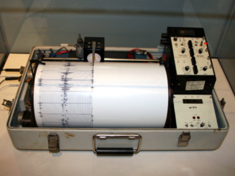 Image of a former state department seismometer