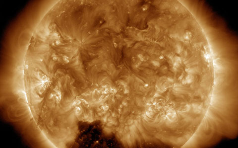The Sun as_seen on January 1st 2015
