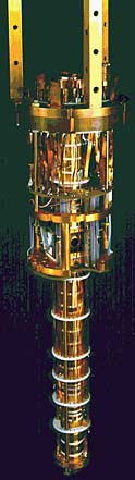 Cold antiproton trap (photo courtesy of CERN)