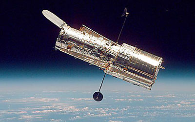 The Hubble Space Telescope (photo courtesy of NASA/STScI)