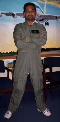 I feel the need...I feel the need for speed. (I couldn't resist...sorry. That's my flight suit, by the way.)