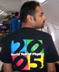 Commemorating the World Year of Physics 2005.