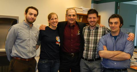 Don Pettit and most of the Physics Central team