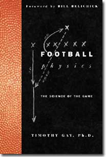 Book cover of Football Physics