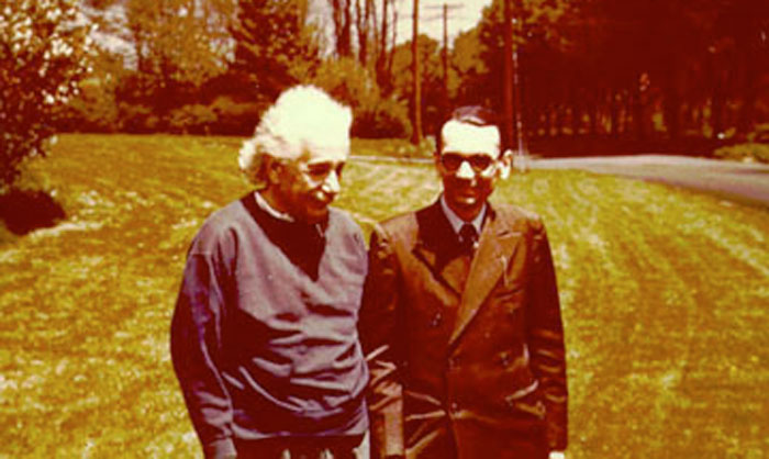 Gödel and Einstein