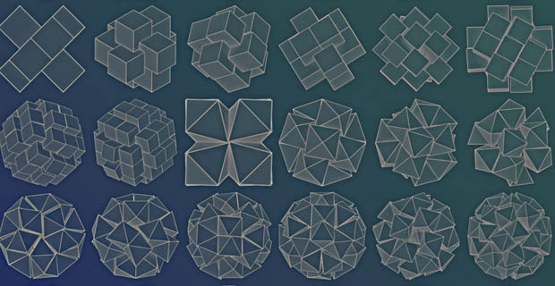 Polyhedral Packing <br> How do you fit as many cubes as possible into a sphere? How about dodecahedrons?